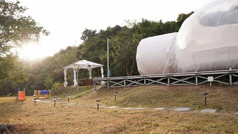 透明充氣泡泡帳篷180度觀星 大嶼山Glamping豪華露營+BBQ體驗