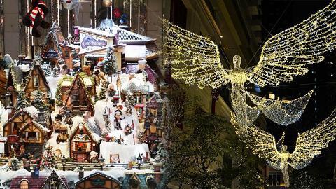 【聖誕好去處2019】聖誕節情侶拍拖好去處!精選全港8大浪漫影相位/花海/燈飾