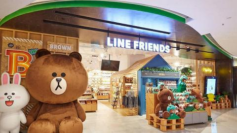 LINE FRIENDS STORE香港門市冬日限時優惠!熊大聖誕造型公仔/卡通精品3折起