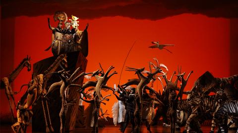 《獅子王》降臨亞博館Arena 經典音樂劇香港首演