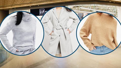 【減價優惠】Gap全場男女裝服飾勁減4折起!外套/毛衣/衛衣低至$58