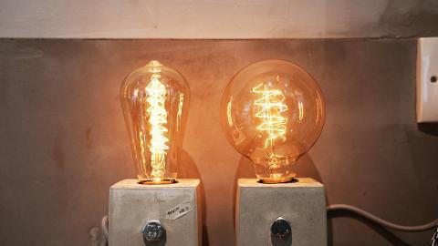 【觀塘好去處】富士山水泥枱燈DIY 親手整型格工業風碟/杯墊/小櫈