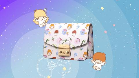 FURLA新推Little Twin Stars系列!超夢幻Kiki+Lala手袋/銀包/咭套/化妝袋