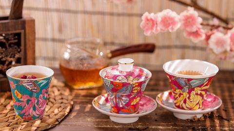 行桃花運 帶限量版陶瓷茶具返屋企