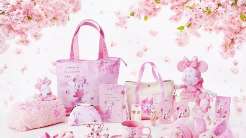 迪士尼首推情人節限定櫻花之戀系列! 超夢幻粉紅色米妮/小熊維尼/豬仔公仔