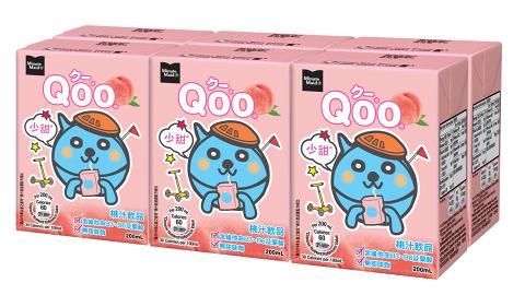 童年回憶果汁飲品Qoo推出少甜版 減糖22%全新包裝3月即將登場