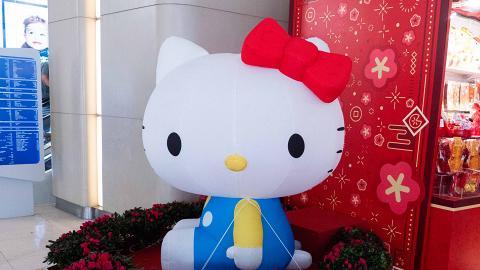 【新年好去處2020】5米高Melody登陸銅鑼灣!Sanrio新春市集/巨型布甸狗