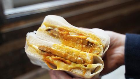 【旺角美食】旺角新開台式小食店 爆餡手工芋泥球/熱熔芝士肉排蛋吐司