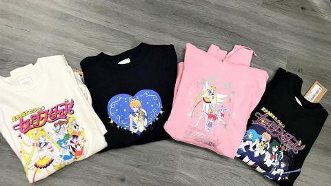 :CHOCOOLATE美少女戰士系列登場 檯燈/變身盒藍牙/心形袋/衛衣