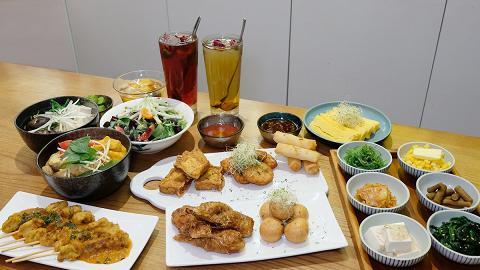 【尖沙咀美食】尖沙咀素食Cafe全新$78素食放題 任食過50款素食主菜/小食/甜品