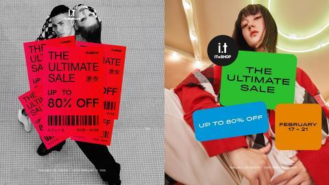 【減價優惠】I.T網店年度大減價開鑼 過百服飾/鞋/手袋品牌低至2折