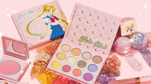 ColourPop新推美少女戰士化妝品 夢幻月野兔眼影盤/胭脂/唇彩