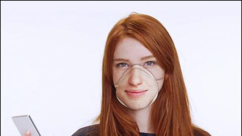 外國網站推出Face ID專用口罩!自家訂製 將人樣印上N95口罩