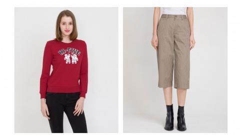 【網購優惠】bossini清貨減價一律25折!男女裝T恤/衛衣/褲/裙/外套$25起