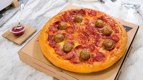 Pizza Hut首次聯乘IKEA宜家家居 全新瑞典肉丸批登場