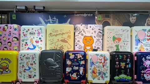 【減價優惠】旺角/觀塘行李箱開倉低至3折!過千款卡通/名牌旅行喼限時$199起
