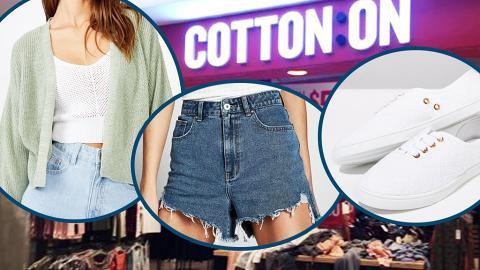 【網購優惠】Cotton On減價7折再送現金券!精選20款女裝衫/褲/裙/鞋款$42起