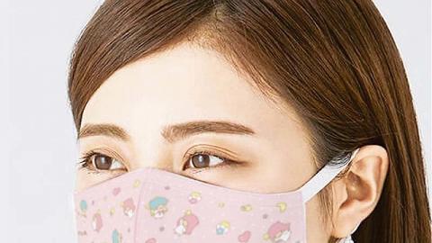 Sanrio官方推出3款可重用三層布口罩 $49.9買到 兒童/成人卡通口罩4月公開預購