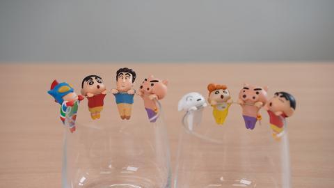 蠟筆小新「杯緣子」扭蛋新登場!8款角色 小葵/小白/不理不理左衛門/爸爸
