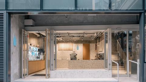【中環美食】Blue Bottle藍瓶咖啡首間香港店開幕 兩層高Cafe歎精品咖啡/輕食