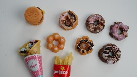 日本研發DIY糖果食玩系列!平價家中娛樂 在家自製冬甩/可麗餅/漢堡包薯條