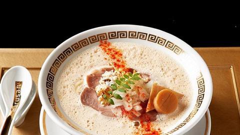 【中環美食】日本大阪人氣鯛魚湯拉麵店抵港 周奕瑋推介超濃厚魚湯拉麵/沾麵