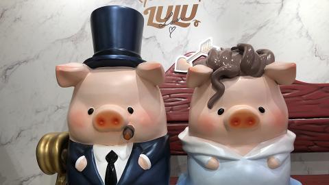 【九龍塘好去處】罐頭豬LULU期間限定展覽!希臘神話天使丘比特造型影相位