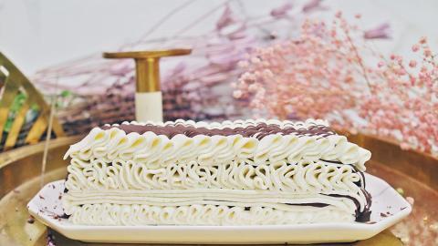 【西環美食】西環素食Cafe新推純素版Viennetta 全人手製還原經典千層波浪紋