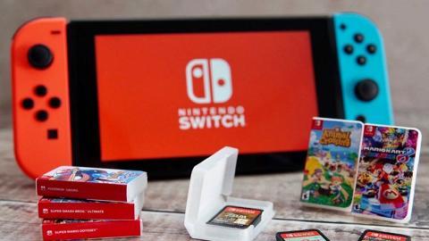 【Switch】超迷你Switch遊戲卡盒鎖匙扣!內藏位置可放遊戲卡帶出街好方便