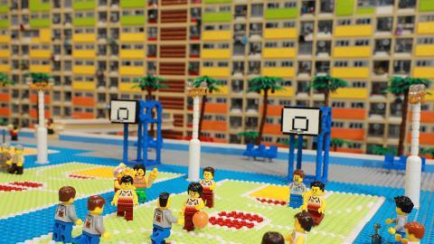 【屯門好去處】免費睇LEGO展重現彩虹邨!近百款作品睇本地懷舊唐樓/戲棚模型