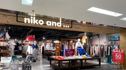 【減價優惠】Niko and...全線分店大減價!服飾/手袋/New Balance/鞋低至半價