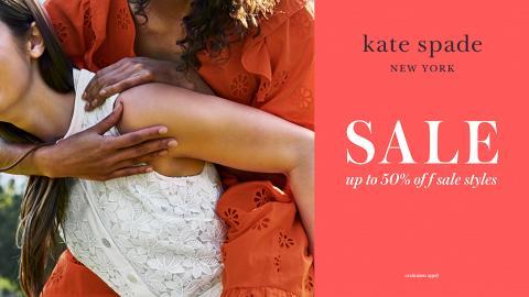 【名牌手袋減價】Kate Spade減價低至5折 手袋/銀包/配飾$275起