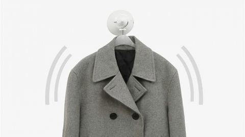 韓國研發3合1速乾衣架!每分鐘擺動過百次 快速吹乾/除臭/晾直衣物