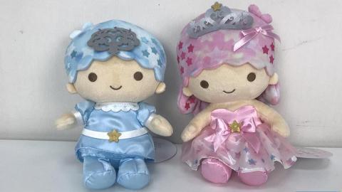 Little Twin Stars 45週年精品登場 公仔/餐具/化妝袋/証件套/雨傘