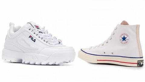【網購優惠】夏日穿搭必備小白鞋推介!精選10款人氣白色帆布鞋/波鞋低至半價