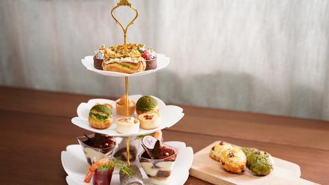 三層英式下午茶外賣直送優惠!藍帶餅師主理 嘆法式甜品/蛋糕/鬆餅/咸點