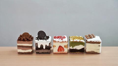 自家製低糖Baileys Tiramisu盒子甜品網店 Oreo奶蓋/抹茶麻糬/美祿朱古力味