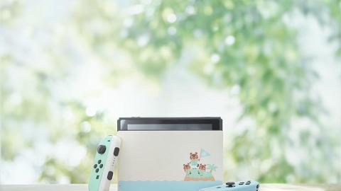 【Switch】AEON推動物森友會Switch主機套裝 連2款遊戲限量400套抽籤發售