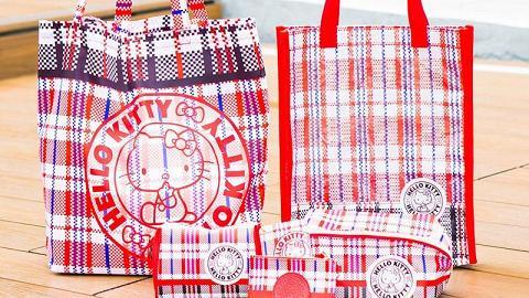 Sanrio網店獨家推出Hello Kitty紅白藍系列!復刻版化妝袋/卡套/斜揹袋/環保袋