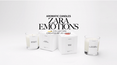 ZARA X Jo Malone創辦人香氛蠟燭香港網店上架 8款香調每款只售$199
