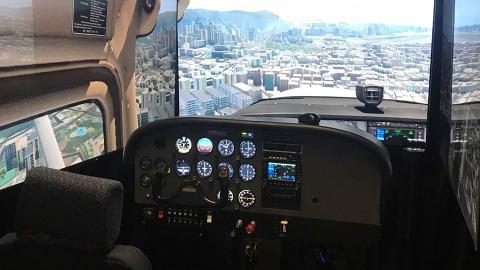 香港模擬飛行駕駛體驗限時優惠75折!$165變身機師 駕駛艙控制飛機起飛/降落
