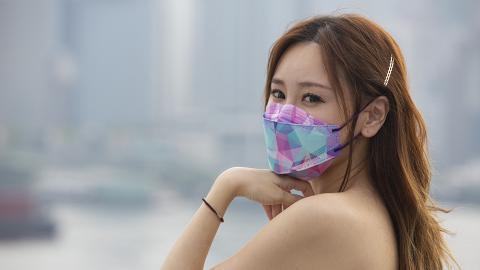 【香港口罩】港產韓式KF款立體口罩抽籤發售 型格迷彩/幻鑽款/9色任選(附網址)