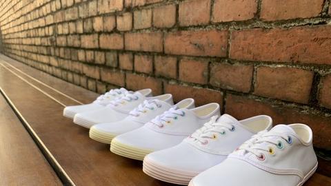 【網購優惠】台灣GOA-Topping防水小白鞋優惠!防水+防污泥物料/一抺即變乾淨
