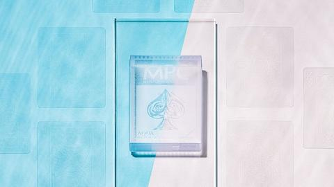 【網購優惠】Aqua Deck全透明撲克牌登場!香港買到 凸字壓紋設計透明版水晶啤牌