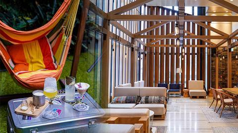 【銅鑼灣好去處】銅鑼灣3000呎露營主題戶外酒吧!坐搖籃吊椅歎日式雞尾酒