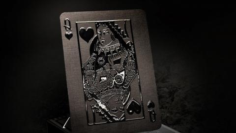 【網購優惠】Make playing Cards別注版撲克牌!紅黑色/全白/全黑立體壓紋啤牌