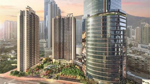 荃灣18層高新商場Plaza 88最快年底開幕 全港首設商場海洋體驗館