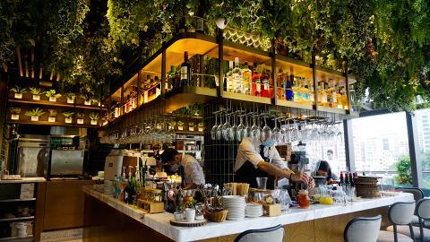 【尖沙咀美食】Glasshouse Greenery旗艦店進駐K11 MUSEA 森系玻璃屋+露天花園歎下午茶