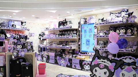 【銅鑼灣好去處】Kuromi期間限定店登陸銅鑼灣 公仔/化妝袋/鏡子/文具低至6折
