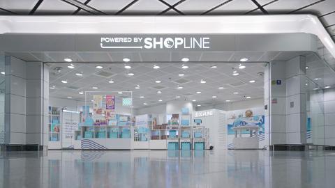 全球智慧開店平台SHOPLINE實體快閃店登陸中環IFC!台灣零食品牌海邊走走率先進駐/每月不同主題